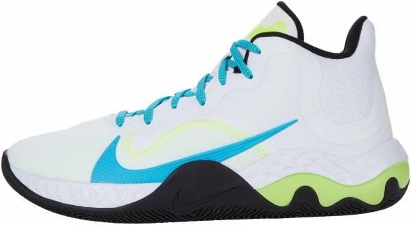 Nike Renew Elevate - White Black Volt Light Blue Fury (CK2669102)