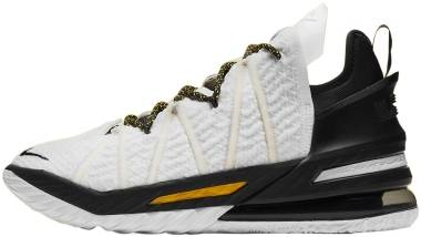 Nike Lebron 18 - Black/Amarillo/White (CQ9283100)