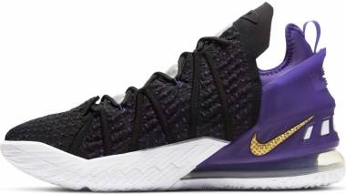 Nike Lebron 18 - Black/Metallic Gold/Court Purple (CQ9283004)