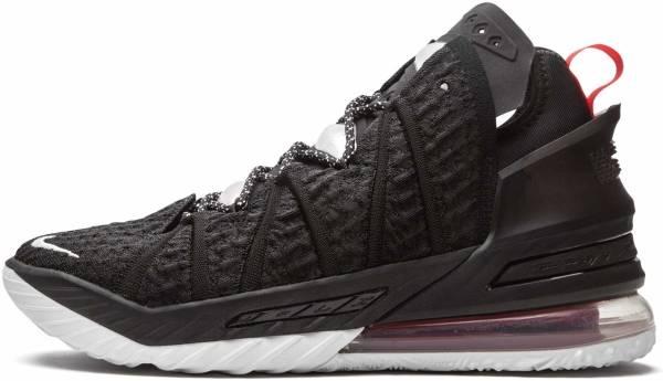Nike Lebron 18 - Black University Red White (CQ9283001)