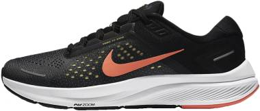 Nike Air Zoom Structure 23 - Anthracite / Bright Mango / Black (CZ6720006)