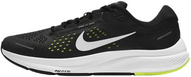 Nike Air Zoom Structure 23 - Black / Metallic Silver / Volt / Anthracite (CZ6720010)