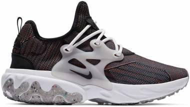 Nike React Presto Flyknit - Black/Vast Grey-fire Pink-blac (CN1709001)