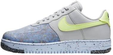 Nike Air Force 1 Crater - Pure Platinum Barely Volt Summit White (CZ1524001)