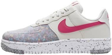 Nike Air Force 1 Crater - Summit White Summit White Siren Red (CT1986101)