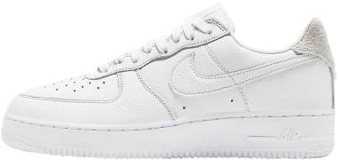 Nike Air Force 1 07 Craft - White White Summit White Vast Grey (CN2873101)