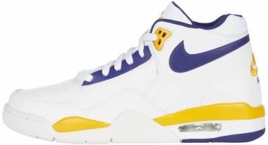 Nike Flight Legacy - White/Regency Purple (BQ4212102)