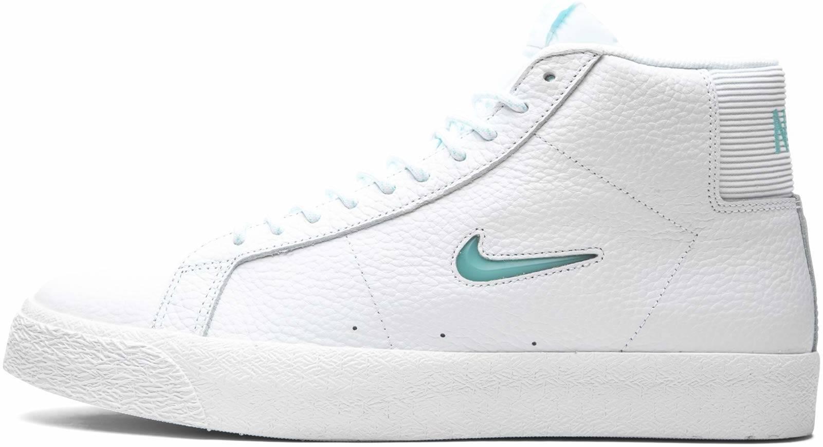 Nike SB Zoom Blazer Mid Premium sneakers in white | RunRepeat