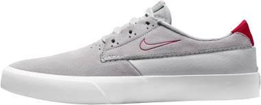 Nike SB Shane - Wolf Grey Pure Platinum White University Red (BV0657011)