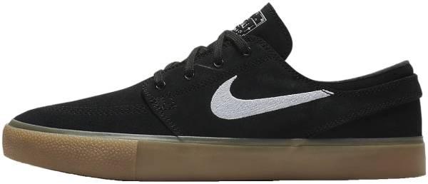 Nike SB Zoom Stefan Janoski RM - Black Black Gum Light Brown White (AQ7475003)