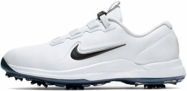 Nike Tiger Woods 71 FastFit - White Black Mtlc Cool Grey Pure Platinum (CD6300100)