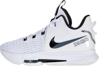 Nike Lebron Witness 5 - White/u002fblack (CQ9380101)