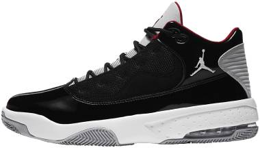 Jordan Max Aura 2 - Black/Gym Red-white-wolf Grey (CK6636006)