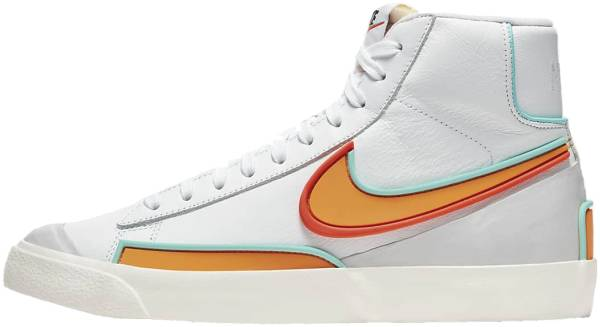 Nike Blazer Mid 77 Infinite - White Aurora Green Bright Crimson Kumquat (DC1746100)
