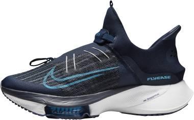 Nike Air Zoom Tempo Next% FlyEase - College Navy Pure Platinum Lagoon Pulse Chlorine Blue (CV1889401)