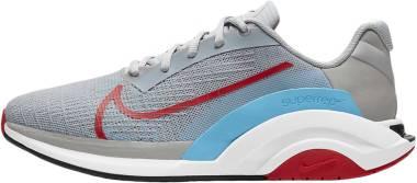 Nike ZoomX SuperRep Surge - Light Smoke Grey Light Blue Fury White University Red (CU7627007)