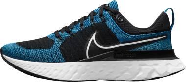 Nike React Infinity Run Flyknit 2 - Blue Orbit/White/Black (CT2357400)