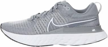 Nike React Infinity Run Flyknit 2 - Particle Grey/White/Grey Fog/Black (CT2357001)