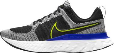 Nike React Infinity Run Flyknit 2 - White Black Racer Blue Cyber (CT2357100)