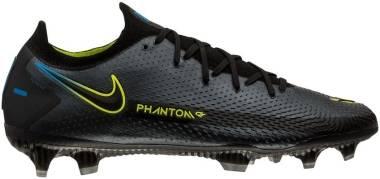 Nike Phantom GT Elite FG - Black Black Cyber Lt Photo Blue (CK8439090)