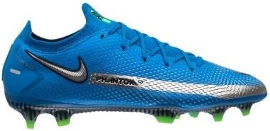 Nike Phantom GT Elite FG - Photo Blue Mtlc Silver Rage Green Black (CK8439400)