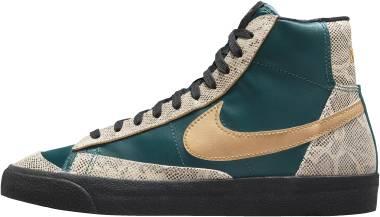 Nike Blazer Mid 77 - Dark Teal Green Black Metallic Gold (DM6176393)