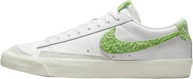 Nike Blazer Low 77 Vintage - White Sail White Mean Green (DJ6193100)