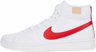 Nike Court Royale 2 Mid - White / University Red / White Onyx (CQ9179101)