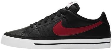 Nike Court Legacy - Black/University Red/White (CU4150001)
