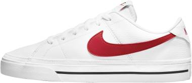 Nike Court Legacy - White University Red Black (CU4150105)