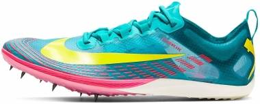 Nike Zoom Victory XC 5 - Lakeside/Opti Yellow-oracle Aqua (AJ0847402)