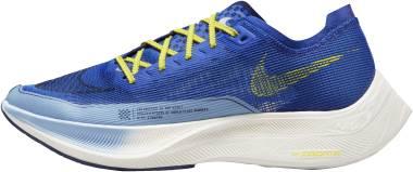 Nike ZoomX Vaporfly NEXT% 2 - Hyper Royal Psychic Blue Blue Void Yellow Strike (DM8324400)