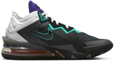 Nike Lebron 18 Low - White/Black/Iron Grey (CV7562100)