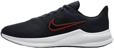 Nike Downshifter 11 - Thunder Blue Chile Red Pure Platinum Off Noir White (DD3576400)