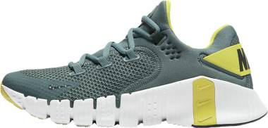 Nike Free Metcon 4 - Hasta/Dark Smoke Grey/White/Bright Citron (CT3886307)