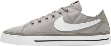 Nike Court Legacy Canvas - College Grey/Black/White (CW6539001)