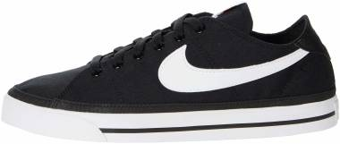 Nike Court Legacy Canvas - Black White (CW6539002)