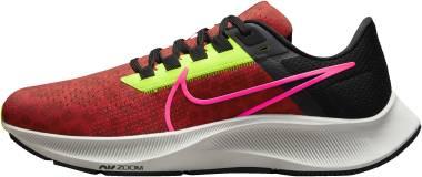 Nike Air Zoom Pegasus 38 - Chile Red Black Platinum Tint Hyper Pink (DM8061600)