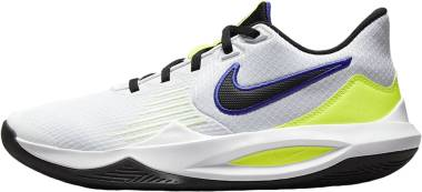 Nike Precision 5 - White Barely Volt Volt Black (CW3403100)
