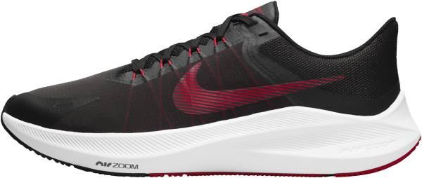 Nike Air Zoom Winflo 8 - Black / University Red / Lt Smoke Grey / White (CW3419003)