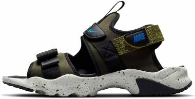 Nike Canyon - Cargo Khaki Bright Citron Black Signal Blue (CW9704301)