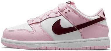 Nike Dunk Low Retro - Pink White Burgundy (CW1590601)