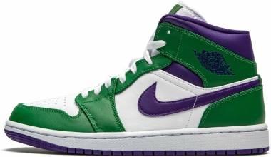 Air Jordan 1 Mid - Green (554724300)