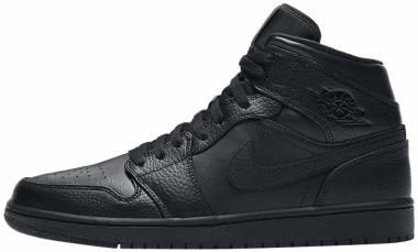 Air Jordan 1 Mid - Black (554724091)