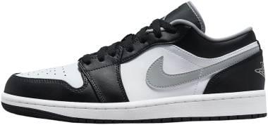 Air Jordan 1 Low - Black Particle Grey White (553558040)