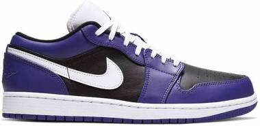 Air Jordan 1 Low - Court Purple/White-black (553558501)