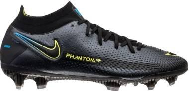 Nike Phantom GT Elite Dynamic Fit FG - Black Cyber Lt Photo Blue (CW6589090)