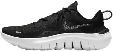 Nike Flex Run 2021 - Black White Dk Smoke Grey (CW3408002)