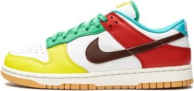 Nike Dunk Low SE - White/Light Chocolate-roma Green (DH0952100)