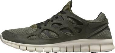 Nike Free Run 2 - Sequoia Medium Olive Sail Black (537732305)